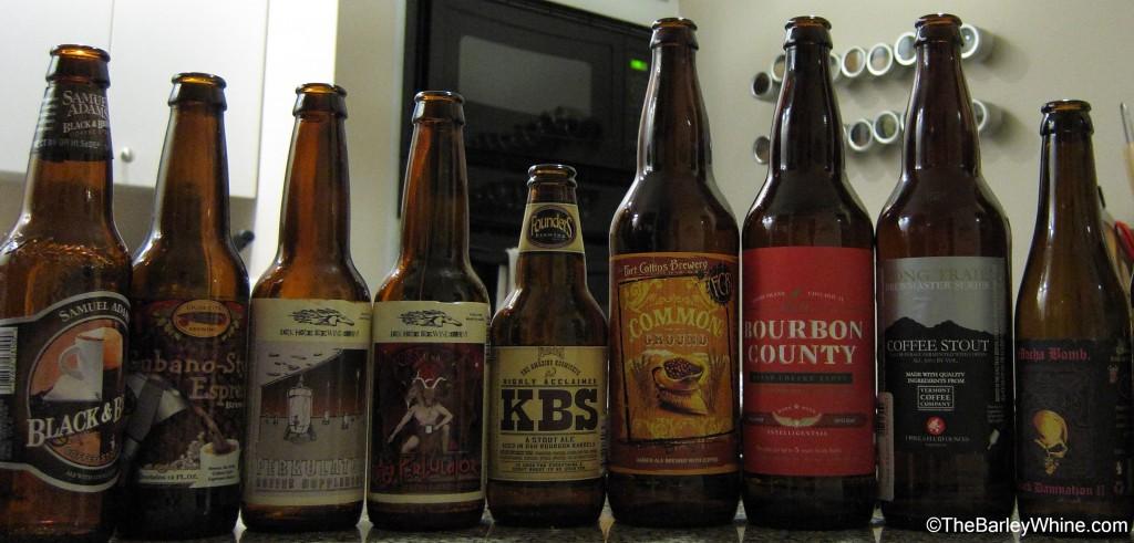 Coffee Beer Lineup Tasting Part 2