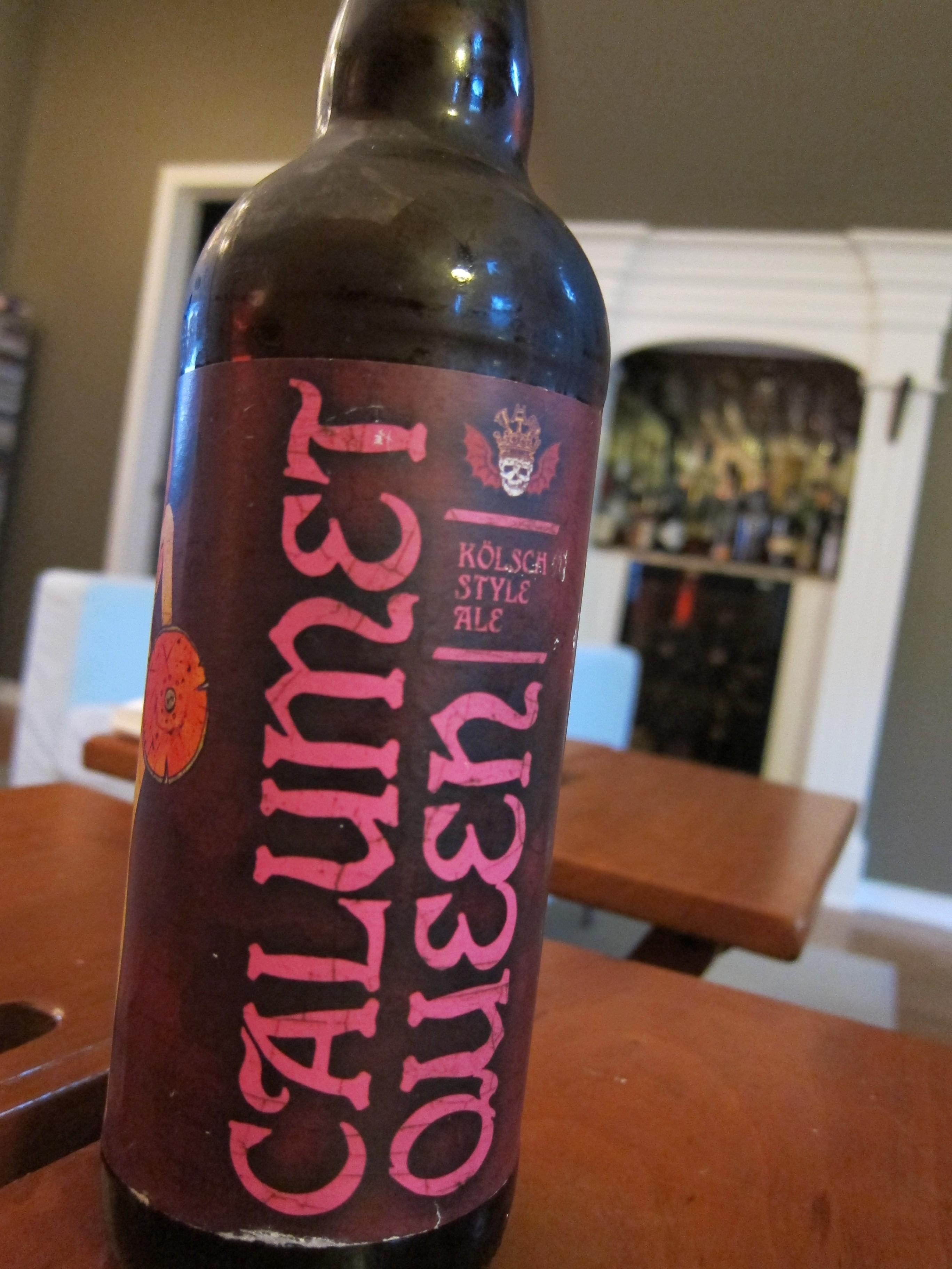 Three Floyds Calumet Queen Kolsch Style Ale