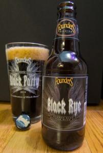 Founders Black Rye